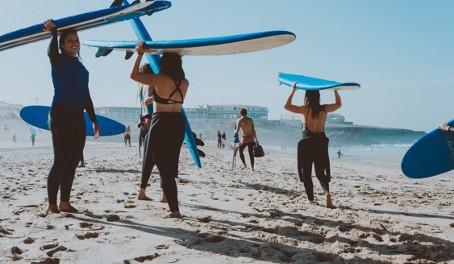 Se préparer au surf