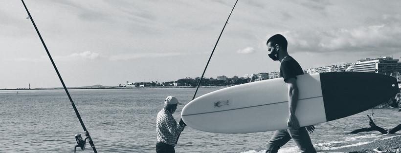 Fini le cliché de Brice de Nice, on peut bel et bien surfer en Meditérran