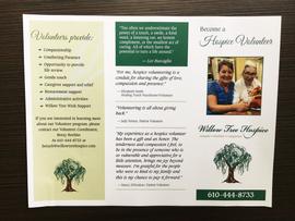 Willow Tree Hospice Brochure