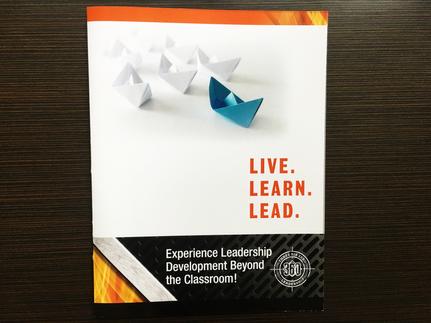 Brochure for Veteran lead Leadship Training Company