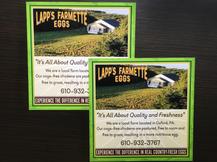 Lapps Farmette Eggs Design