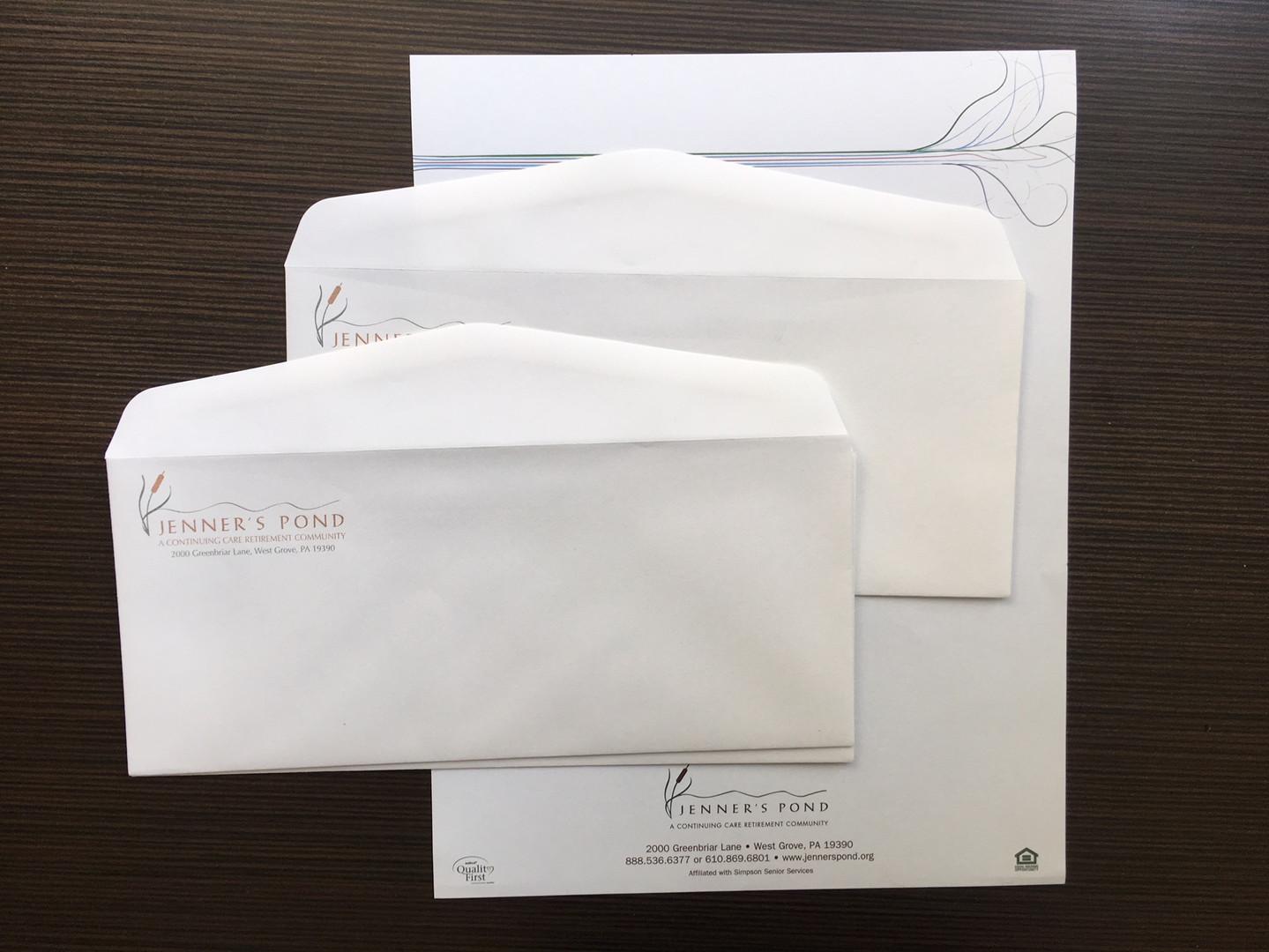 Jenner's Pond Envelopes