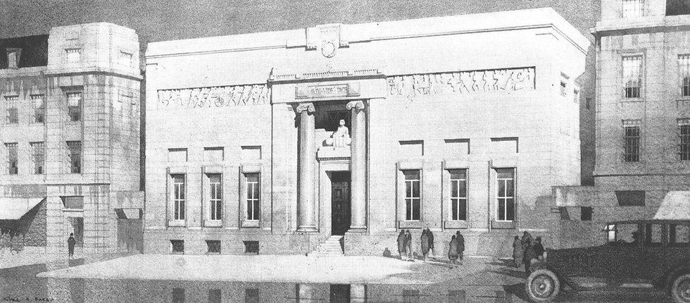 Masonic Temple, Broad Street, Birmingham 1927