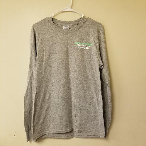 Grey Long-sleeved Shirt