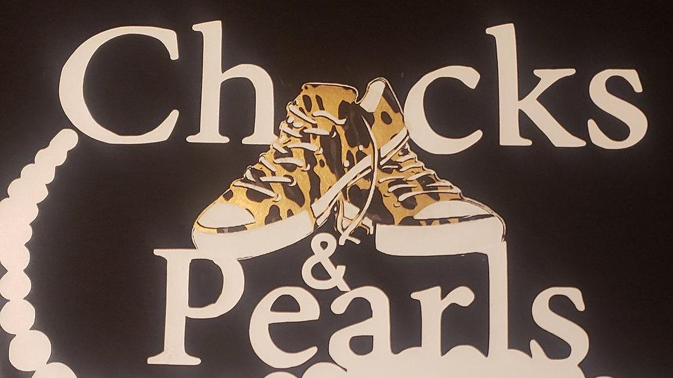 Chucks & Pearl's tshirt