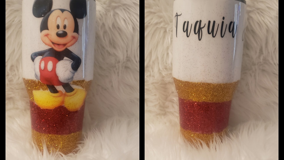 Custom tumblers available (customized upon order)
