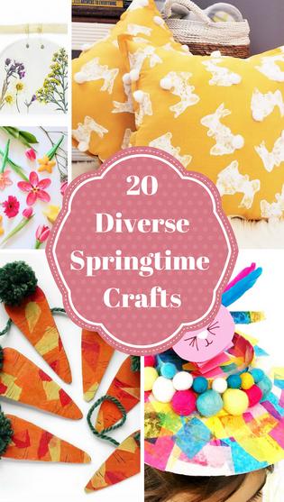 20 Diverse Springtime Crafts