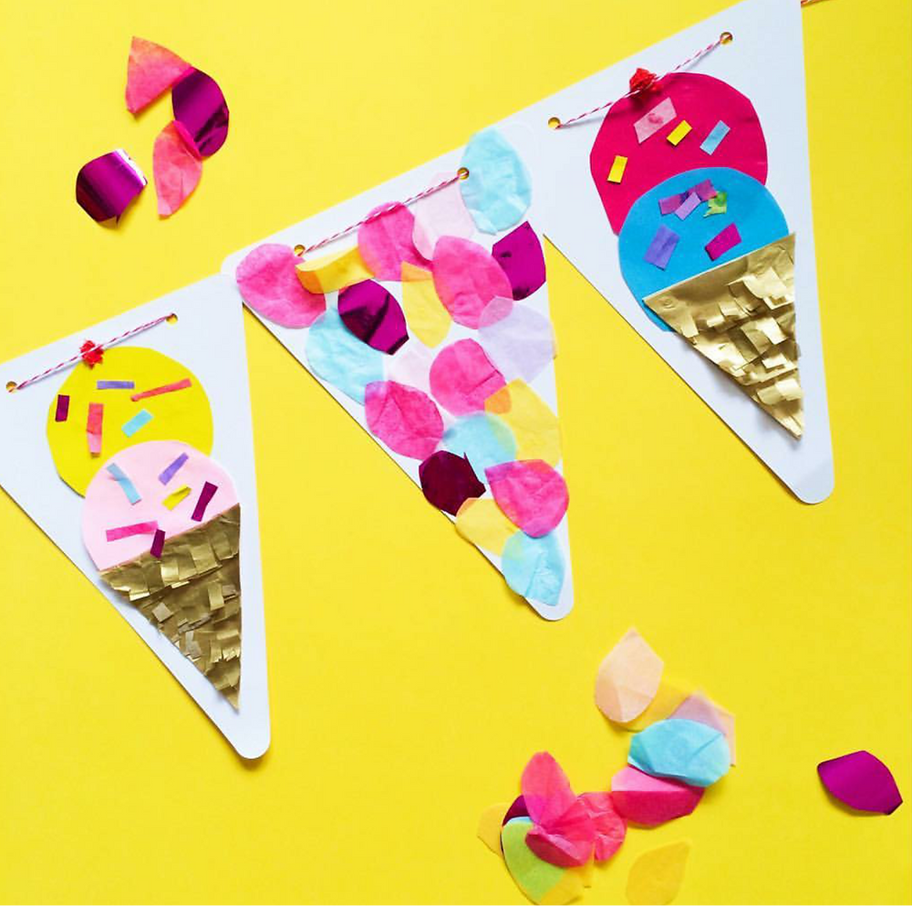 Delightful Ice Cream Garland