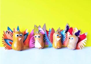 Honeynut Squash Turkeys
