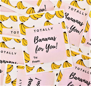 Banana Valentine's Day Card