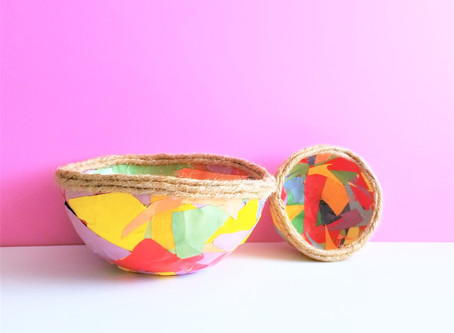 Scrap Paper Bowls