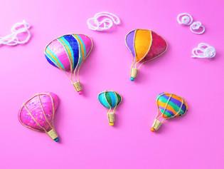 Hot Air Balloon Seashells