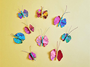 Ginkgo and Stick Butterflies