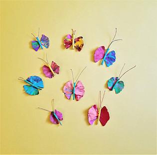 Ginkgo and Stick Butterflies