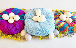 Yarn Skein Nests