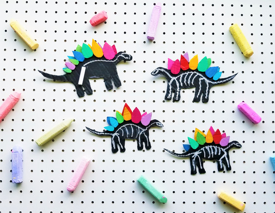 Rainbow Stegasaurous