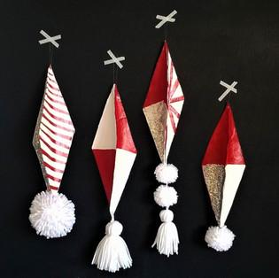 Paper Roll Ornaments