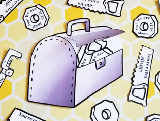 Toolbox Father's Day Card