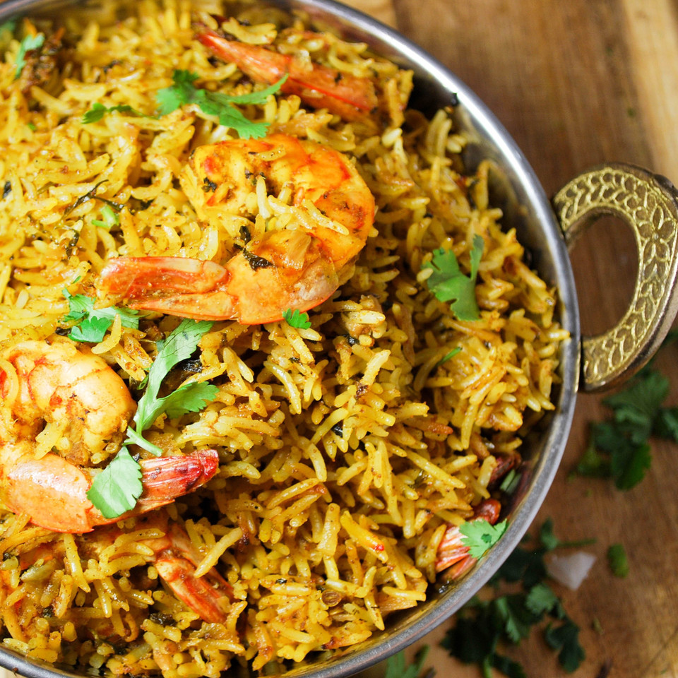 Shrimp Biryani