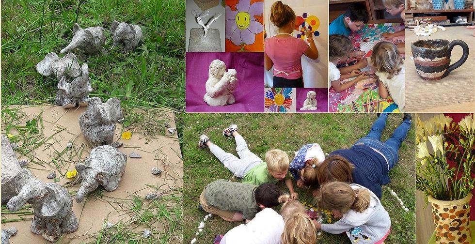 Atelier Enfant Soleil d'argile