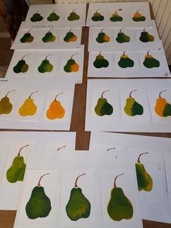 Stage Impression d'automne. Atelier Soleil d'argile.