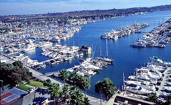 Business or pleasure? Marina Del Rey, the perfect place to gather.