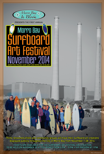 Surfboard Art Festival In Morro Bay Continues Month-Long Celebration!