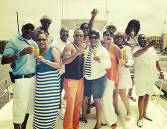 4th Of July party aboard The Duchess a huge success!