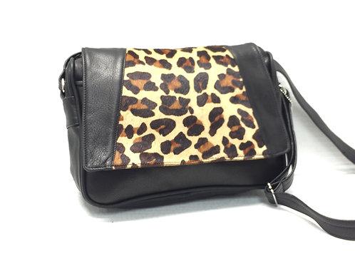 Style #102 Organizer w/cheetah fur leather