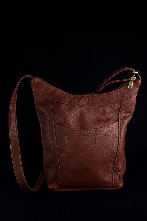 Style #124 Hobo Jr. Leather Crossbody Bag