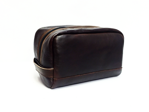 Travel Style Leather Dop Case