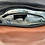 Thumbnail: Style #112 Tulip - Tiny Leaves Embossed Multi Tone Leather Crossbody Bag
