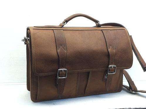 Briefcase Single Compartment Bison