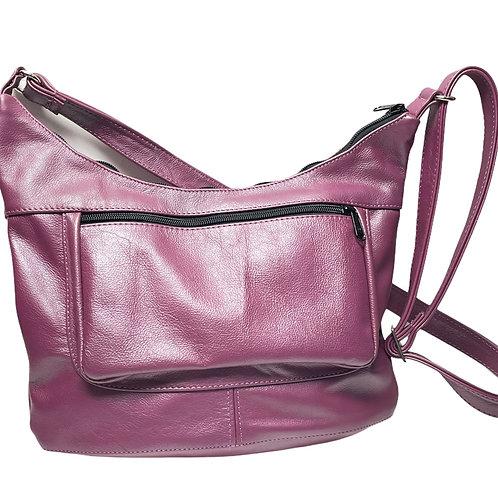 Style #100 Hobo -  Leather Crossbody Bag