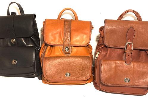 Style Soft leather Backpack Medium Wholesale