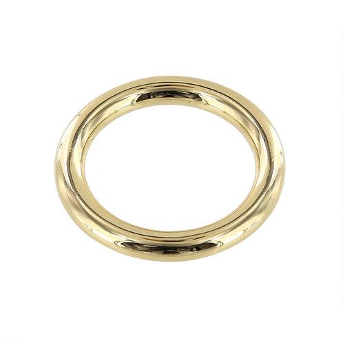 "1 1/2"" Brass Plate, O Ring, Solid Brass"