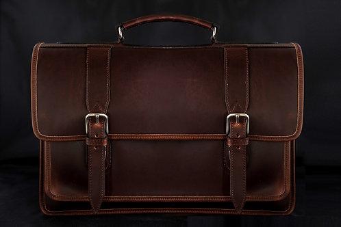 Briefcase Leather Crossbody Single