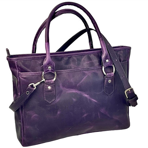 Style #126 Vertical Leather Tote