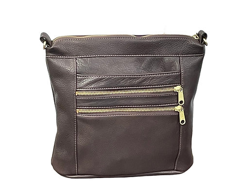 Style #142 Leather Crossbody Bag