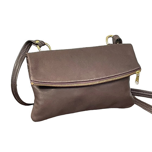 Style #2092 Leather Crossbody Bag