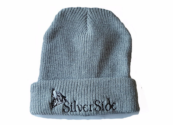 SilverSide & Wolf Legacy Beanie Heather Grey