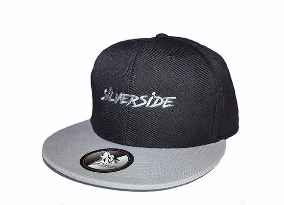 SilverSide Three Signature Snapback Black/Light Grey
