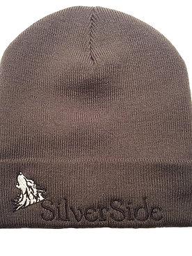 SilverSide & Wolf Beanie Graphite Grey