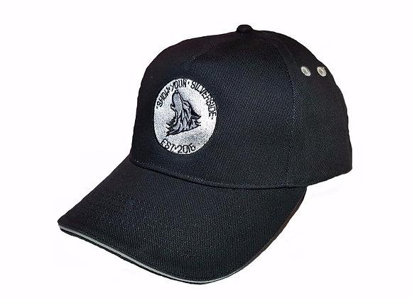 SilverSide Rising Cap Black & Light Grey