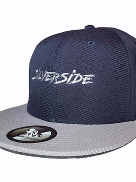 SilverSide Three Signature Snapback French Navy/Light Grey