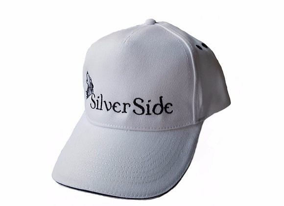 SilverSide & Wolf Cap White/French Navy
