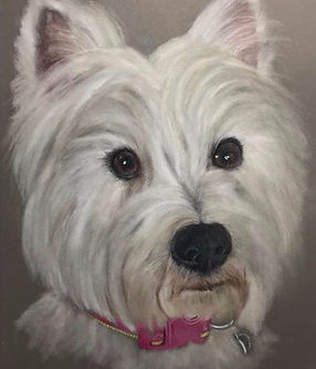 West Highland Terrier by Cathy Edwards