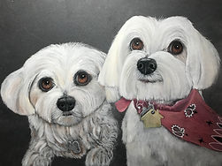 Lexi and Madi by Cathy Edwards