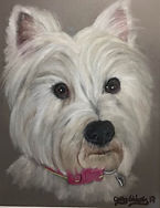 Westie by Cathy Edwards