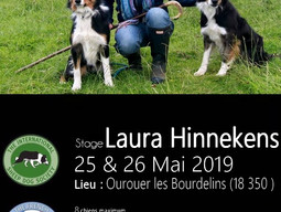 Stage Laura Hinnekens 25,26 mai 2019